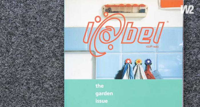 Label magazine logo