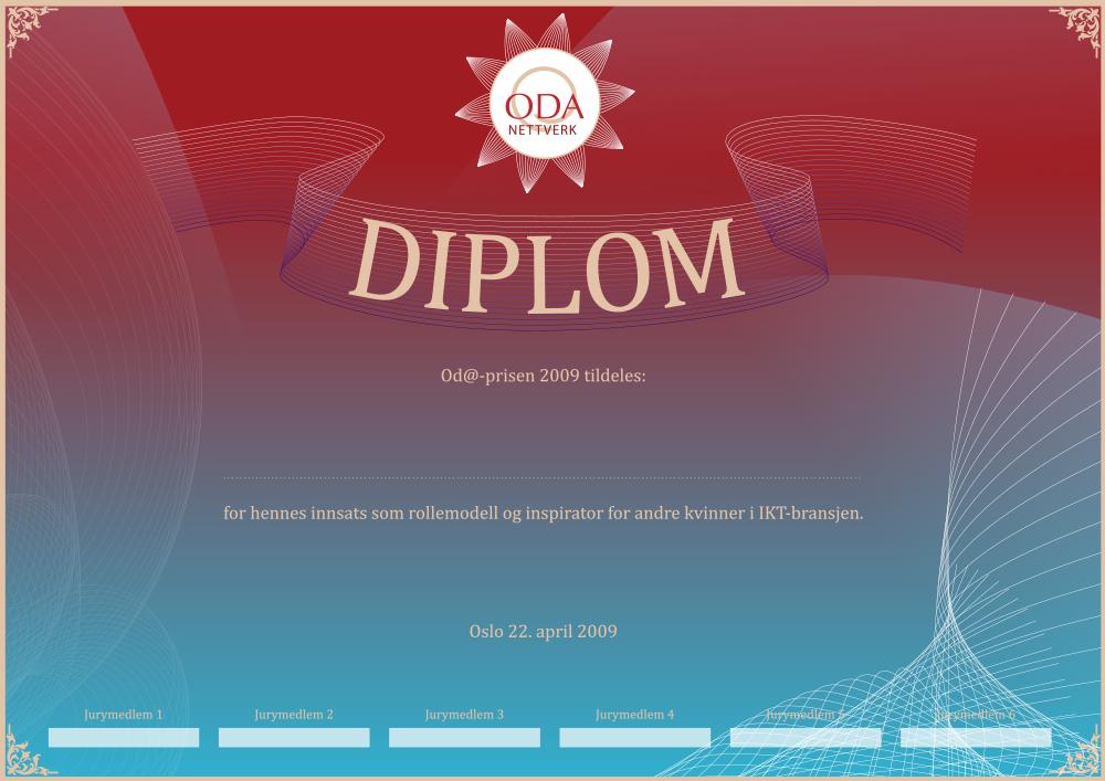 Oda Nettverk Diplom