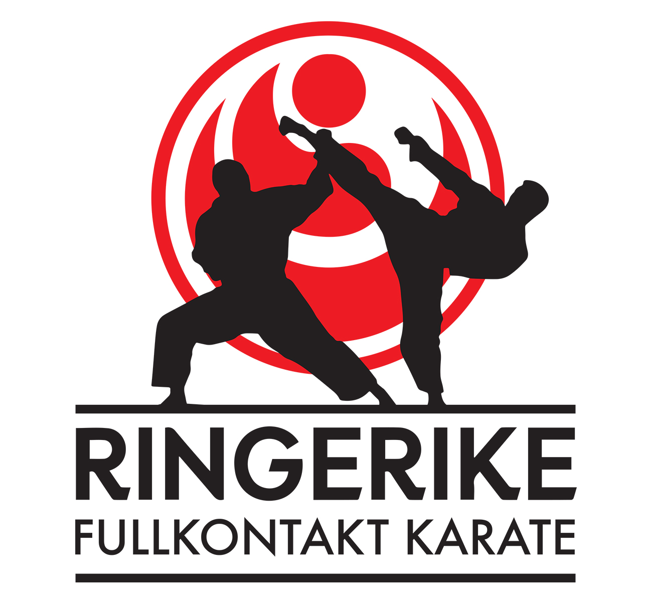 Ringerike Karateklubb logo