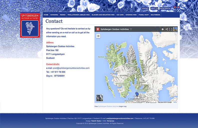Spitsbergen Outdoor Activites